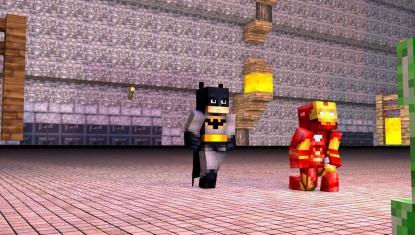 batman v minecraft