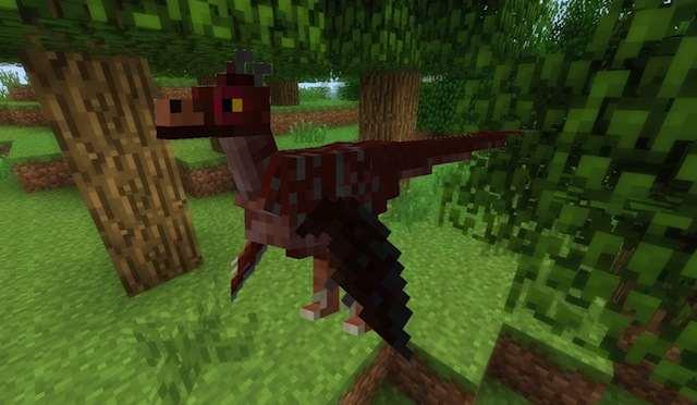 мод на динозавров 162