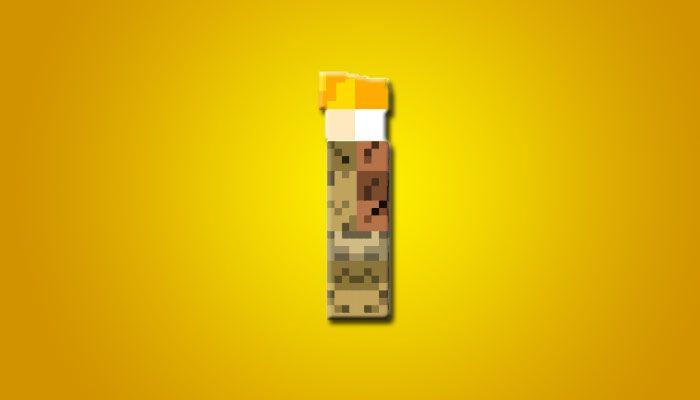 скин факела