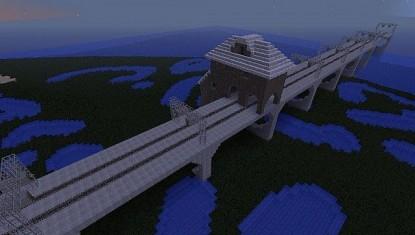 мост в Лиманск