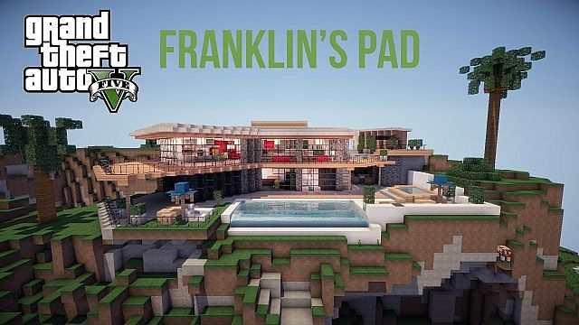 внешний вид дома Франклина в ГТА 5