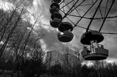 карта Чернобыля