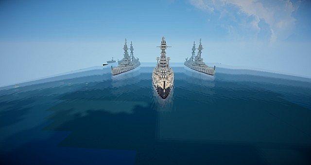 Корабли на карте Морской бой