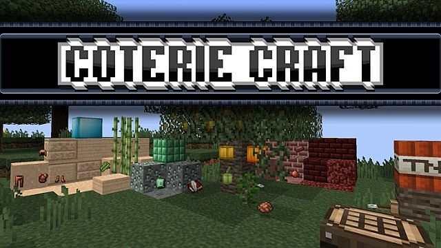 Ресурс пак CoterieCraft
