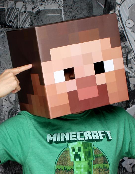 Minecraft-Steve-Head