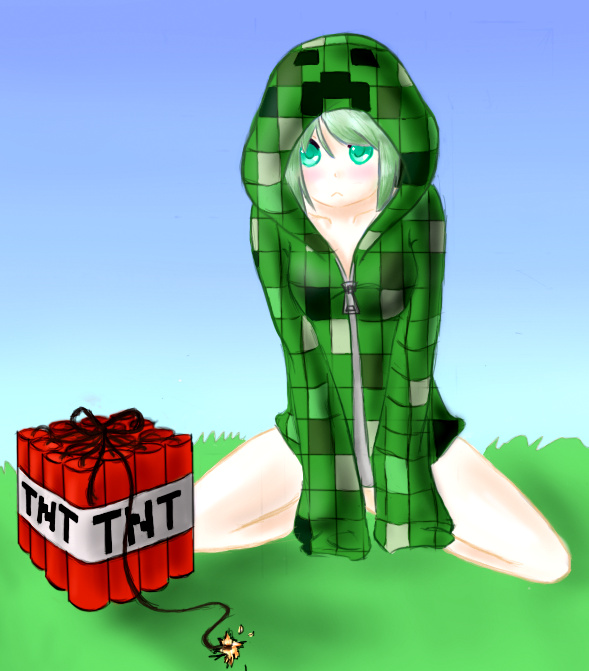 creeper_girl__by_nadiki-d5lgviw