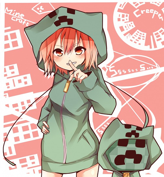 minecraft___creeper_girl_by_mikimagpoid-d6c54xr