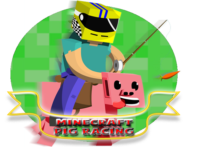 minecraft_pig_racing_by_blacksonicwinds-d5oiuvr