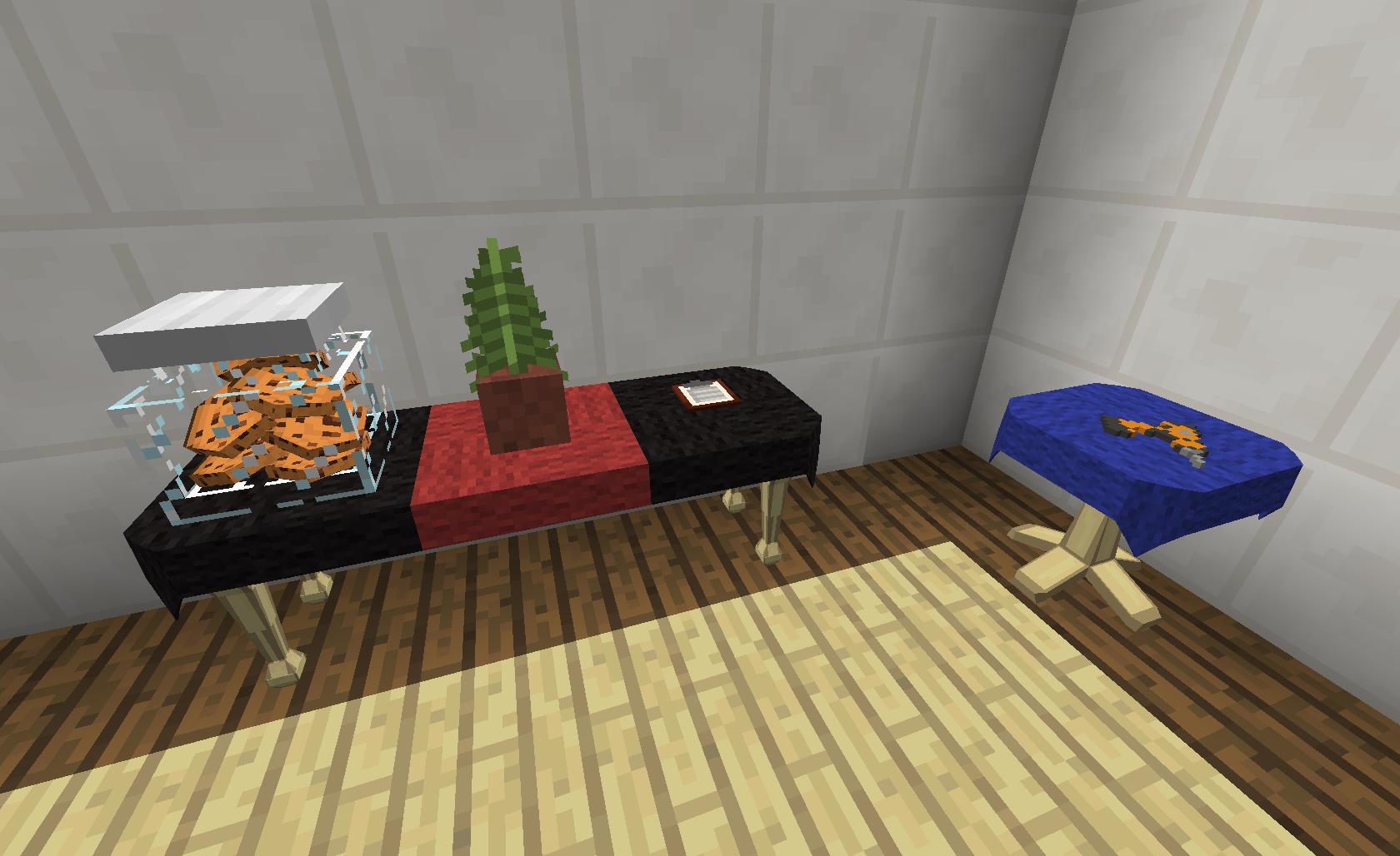 мод на 3d современную мебель в майнкрафт 1.7.10 #5