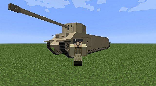 моды на танки для майнкрафт 1.7.10 #8